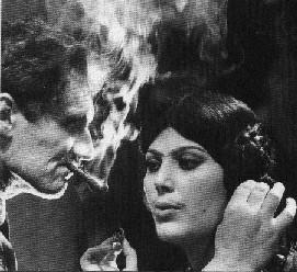 Pietro germi e daniela rocca sul set del film divorzio all'italiana